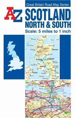 Scotland Road Map - Geographers' A-Z Map Company