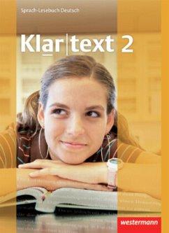 Klartext 2. Schülerband. Realschule. Baden-Württemberg, Rheinland-Pfalz, Saarland