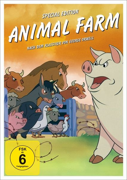 aufstand der tiere animal farm special edition film auf dvd. Black Bedroom Furniture Sets. Home Design Ideas