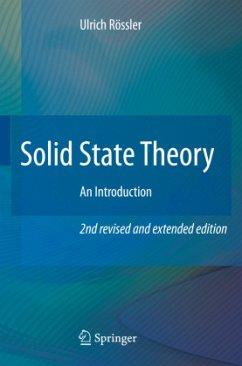 Solid State Theory - Rössler, Ulrich