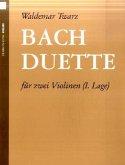 Bach-Duette, Bearbeitungen für 2 Violinen, Spielpartitur