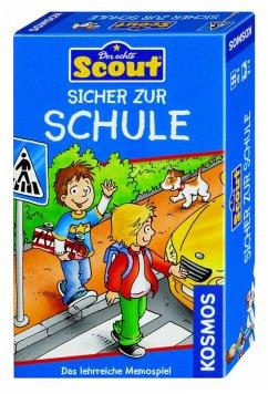 Sicher zur Schule (Kinderspiel) / Scout Lernspi...