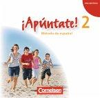 2 Audio-CDs / ¡Apúntate! - Spanisch für Gymnasien (Ausgabe 2008) Bd.2