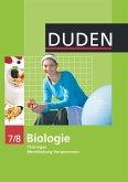 Duden Biologie - Sekundarstufe I - Mecklenburg-Vorpommern und Thüringen - 7./8. Schuljahr. Schülerbuch