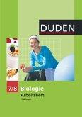 Duden Biologie - Sekundarstufe I - Mecklenburg-Vorpommern und Thüringen - 7./8. Schuljahr. Arbeitsheft - Thüringen
