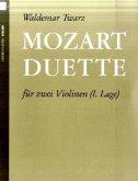 Mozart-Duette, für 2 Violinen, Spielpartitur