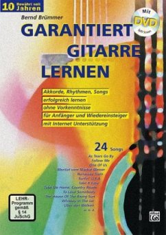 Garantiert Gitarre lernen, m. DVD