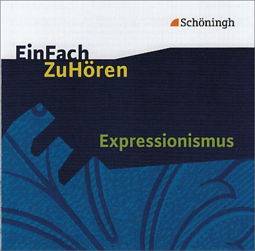 expressionismus 1 audio cd h rbuch. Black Bedroom Furniture Sets. Home Design Ideas