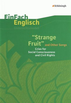 'Strange Fruit' and Other Songs, m. Audio-CD