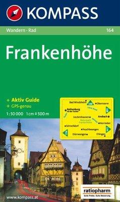 Kompass Karte Frankenhöhe