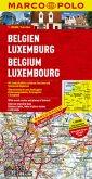 Marco Polo Karte Belgien, Luxemburg; Belgium, Luxembourg; Belgie, Luxemburg; Belgique, Luxembourg