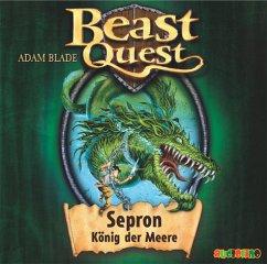 Sepron, König der Meere / Beast Quest Bd.2 (1 Audio-CD) - Blade, Adam
