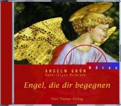 Engel, die dir begegnen, 1 Audio-CD - Grün, Anselm
