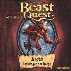 Arcta, Bezwinger der Berge / Beast Quest Bd.3 (1 Audio-CD) - Blade, Adam