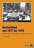 Deutschland von 1871 bis 1945