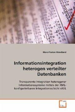 Informationsintegration heterogen verteilter Datenbanken