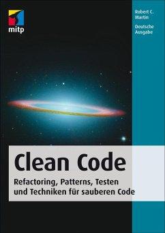 Clean Code - Deutsche Ausgabe - Martin, Robert C.