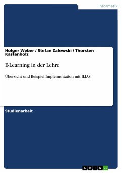 E-Learning in der Lehre