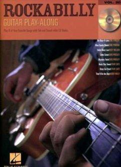 Rockabilly, for Guitar, Book & Audio-CD