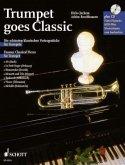Trumpet goes Classic, Trompete und Klavier ad lib., m. Audio-CD