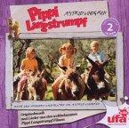 Pippi Langstrumpf, Originalmusik und Lieder aus den weltbekannten Pippi Langstrumpf Filmen, 1 Audio-CD