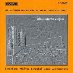 Neue Musik In Der Kirche - Ziegler,Klaus Martin