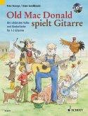 Old Mac Donald spielt Gitarre, für 1-2 Gitarren, m. Audio-CD