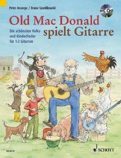 Old Mac Donald plays Guitar, für 1-2 Gitarren, m. Audio-CD