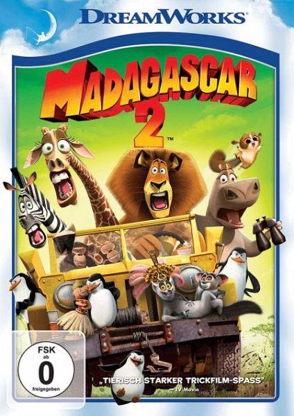 Madagascar 2, DVD-Video
