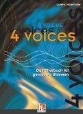 4 voices - Das Chorbuch für gemischte Stimmen