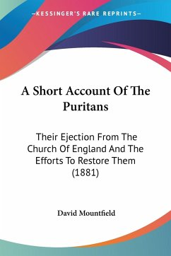 A Short Account Of The Puritans