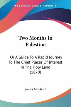 Two Months In Palestine