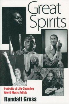 Great Spirits: Portraits of Life-Changing World Music Artists - Grass, Randall