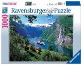 Ravensburger 15804 - Norwegischer Fjord, 1000 Teile Puzzle
