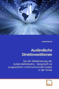 Ausländische Direktinvestitionen