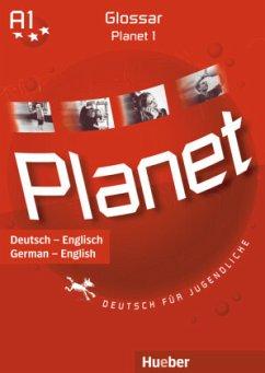 Glossar Deutsch-Englisch / Glossary German-English / Planet - Deutsch für Jugendliche Bd.1