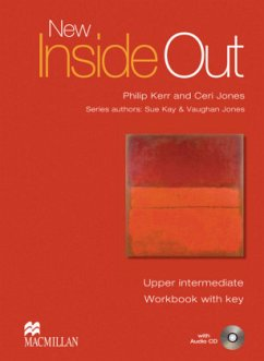 New Inside Out. Upper-Intermediate. Workbook with Audio-CD and Key - Kay, Sue; Jones, Vaughan