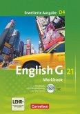 English G 21. Erweiterte Ausgabe D 4. Workbook mit e-Workbook und Audios Online