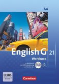 English G 21. Ausgabe A 4. Workbook mit CD-ROM (e-Workbook) und CD