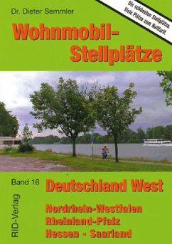 Wohnmobil-Stellplätze 16. Deutschland West