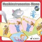 Musikinstrumenten-Memo (Kinderspiel) + Audio-CD / Musik und Tanz für Kinder, Neuausgabe