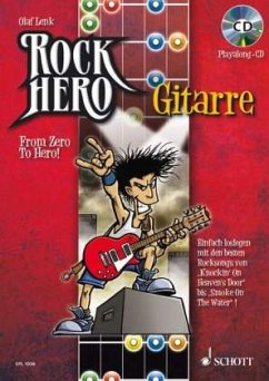 Rock Hero - Gitarre, m. Audio-CD