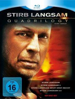 Stirb Langsam 1-4 (4 Blu-rays)