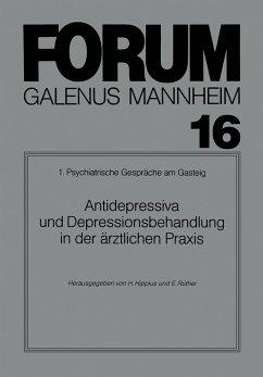 Antidepressiva und Depressionsbehandlung in der ärztlichen Praxis
