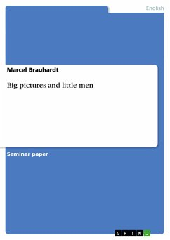 Big pictures and little men