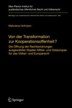 Von der Transformation zur Kooperationsoffenheit? - Hofmann, Mahulena