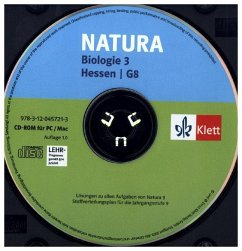 9. Schuljahr, CD-ROM / Natura, Biologie für Gymnasien, Neubearbeitung (G8), Ausgabe Hessen .3