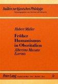 Früher Humanismus in Oberitalien