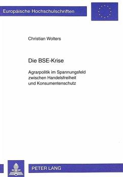 Die BSE-Krise