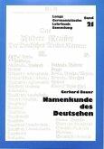 Namenkunde Des Deutschen